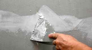How to align the wall with two layers of putty