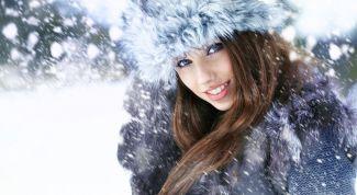 Меховая шапка – лучший друг модниц в зимнюю пору