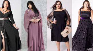 Модные летние платья для полных женщин
