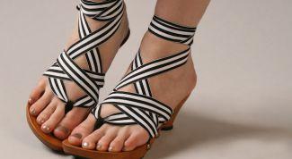 Новинки летней обуви. Модные тенденции