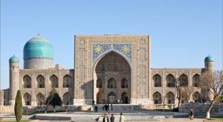 Samarkand - the mysterious city