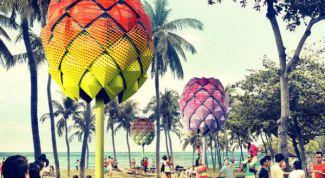 Пляжные дома на территории Сингапура