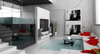 Using the style of minimalist interior