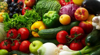 Rules for the selection of fresh vegetables and herbs