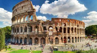 Интересные места в Риме