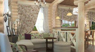 Деревенский стиль в городской квартире