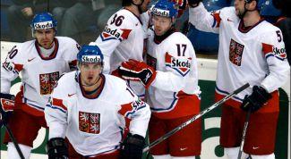 Состав сборной Чехии на Кубок мира по хоккею 2016