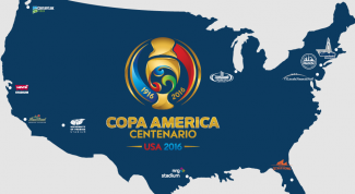 Copa America in 2016: composition of groups