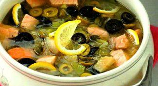 Как приготовить вкусную рыбную солянку