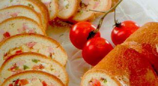 Loaf-loaf for a picnic