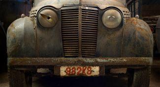 Продажа старого автомобиля