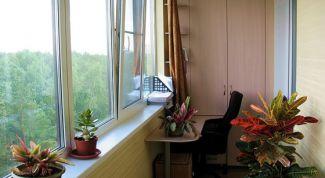 Создание теплой комнаты из лоджии