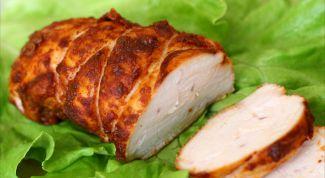 Пастрома из куриного мяса