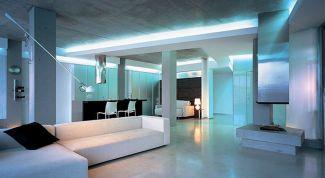 Как оформить квартиру в стиле Hi-Tech