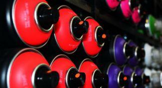 Способ применения аэрозольных красок