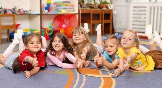 Как поспособствовать адаптации ребёнка к детскому саду