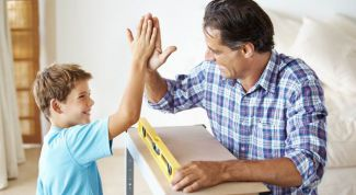 Does the child's success from how to talk to him parents?