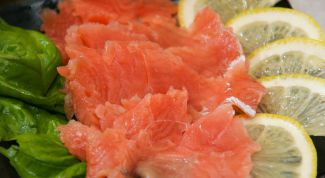 Salted lemon salmon