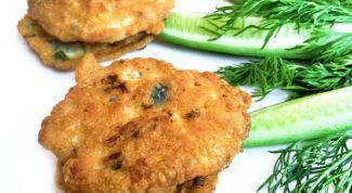 Andariki - chicken cutlets