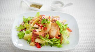 Salad with smoked Turkey