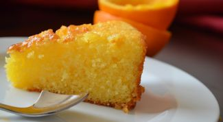 Как приготовить апельсиновый кекс с миндалем