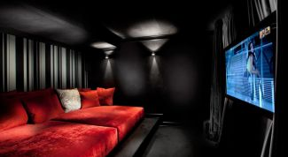 Interior design. Inspired by Noir and westerns