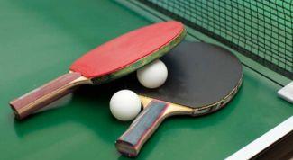 Как выбрать ракетки для настольного тенниса
