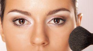 Осветление и затемнение в макияже