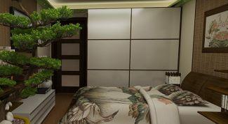 Японская спальня для современной квартиры