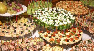 Закуски для утоления голода и поднятия аппетита