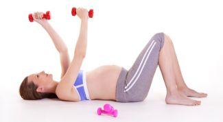 Необходим ли спорт беременным