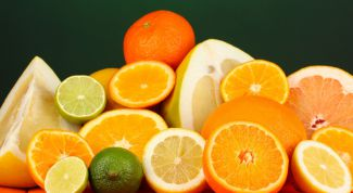 Diet citrus: orange and lemon