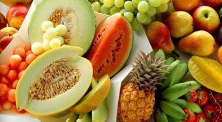 Полезные продукты и олиготерапия