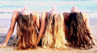 Hair care in summer: instructions for use