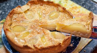 How to cook fruit pie with pears