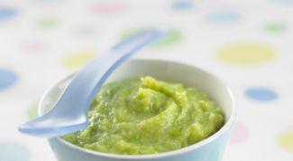 Potato-pea puree with chicken
