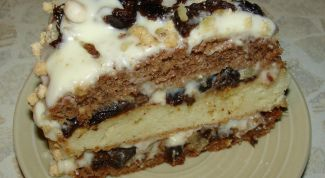 How to make cake with prunes