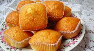Как приготовить апельсиновые кексы