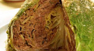 Как приготовить фаршированную капусту