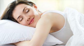 Правила здорового сна