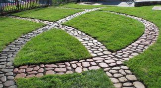Decorative garden paths