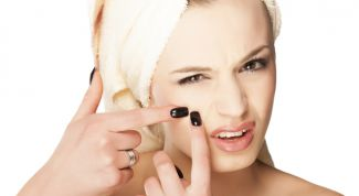 Effective means of dealing with pimples