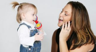 The education of the baby: rules of communication