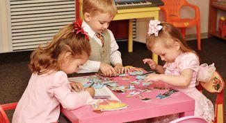 Общение детей в детском саду