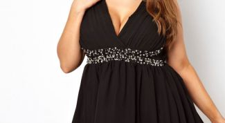 How to choose a fashionable dress for full girls