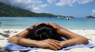Безопасный загар в отпуске