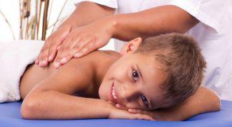 Массаж для ребенка от кашля