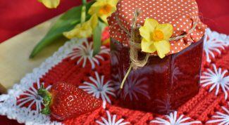 Как сварить густое варенье из клубники