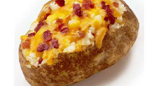 Печеный картофель с наполнителем