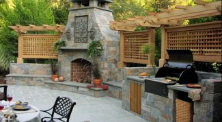 How to prepare a garden, barbecue